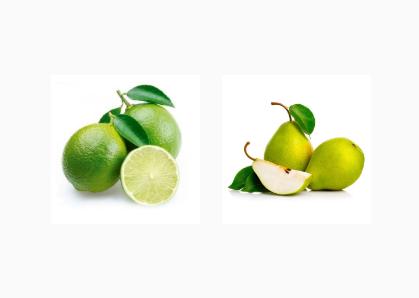 Limão e Pera